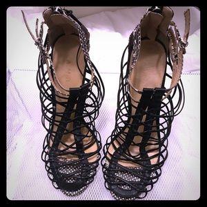 L.A.M.B. High heel Strappy Sandal